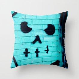 Graffito Throw Pillow
