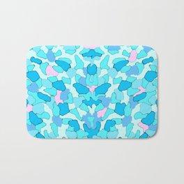 Camo Aqua Bath Mat