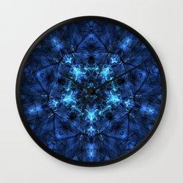 Star Rebirth Mandala Wall Clock