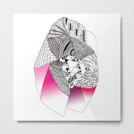 Shape Heart Metal Print