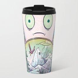 Rick morty Travel Mug