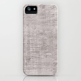 Grey scrateched iPhone Case