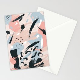 Pastel abstraction I Stationery Cards