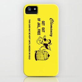 Snowden Was Justified iPhone Case