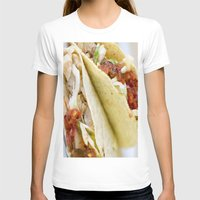 taco T-shirts featuring Taco  by Spotted Heart