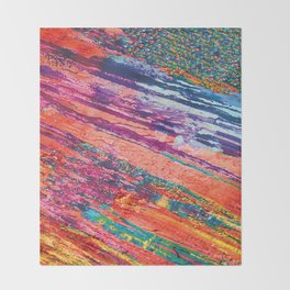 Tributaries Throw Blanket