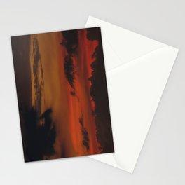 A Sky On Fire - 2 Stationery Cards