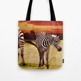 The Zebras Tote Bag