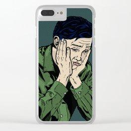 Okay Karma - Untitled Clear iPhone Case