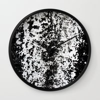 river Wall Clocks featuring River by David Bastidas