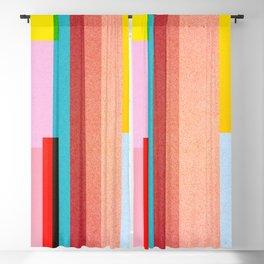 Paper texture - colorful background design Blackout Curtain