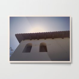 Mission Morning Metal Print