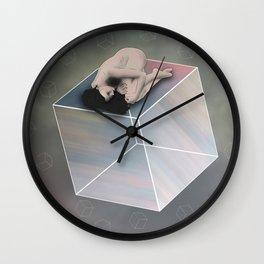 Cube Travel Wall Clock