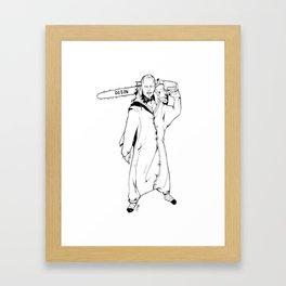 Chippendale Sharknado code name: 90210  Framed Art Print