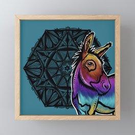 Donkey- Catalyst Ranch Framed Mini Art Print