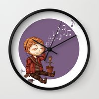 starlord Wall Clocks featuring StarLord by MaliceZ