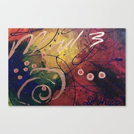 Odyssey 3 Abstract Canvas Print