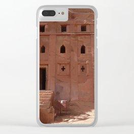 Ethiopian Church 01 Clear iPhone Case