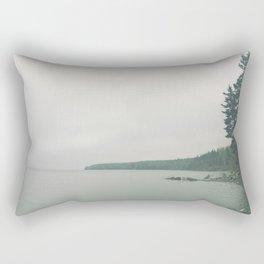 Misty Morning Rectangular Pillow
