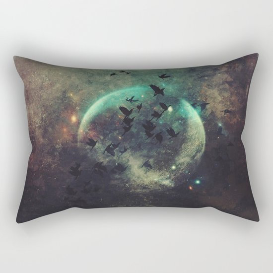 βyrd wyrld Rectangular Pillow