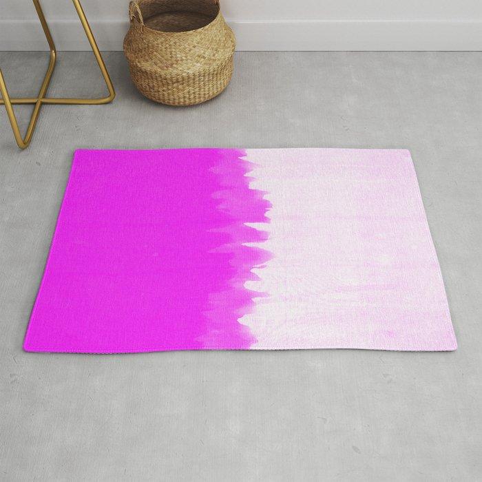 Pink Smear Rug