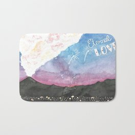 Eternal Love Bath Mat
