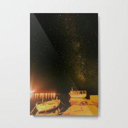 Milky Way over Croatia Metal Print