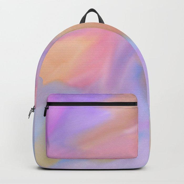 Purple Watercolor Storm Backpack
