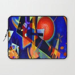 Kandinsky In Blue Laptop Sleeve