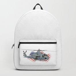 Patriotic UH-1Y Venom Helicopter Backpack