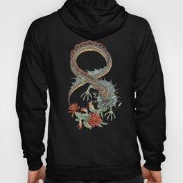 Botanical Flower Dragon 8 Hoody