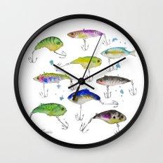 Fishing is Fly No3 Wall Clock