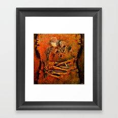 Goodnight Monsieur Bone Framed Art Print