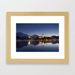 The Still Lake Framed Art Print