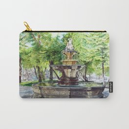 Old Fountain at Split, Croatia Carry-All Pouch