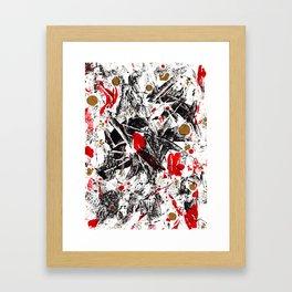 Jazzed Up Framed Art Print