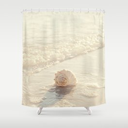 Seashell by the Seashore I Shower Curtain
