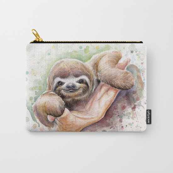 Sloth Carry-All Pouch