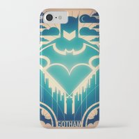 gotham iPhone & iPod Cases featuring Gotham by Lazare Gvimradze