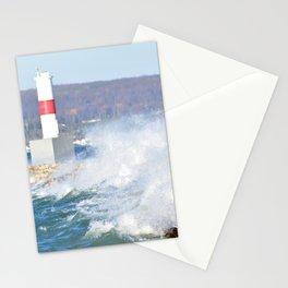 November Waves Stationery Cards