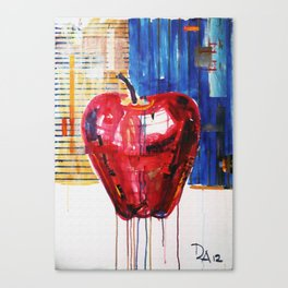 industrial apple Canvas Print