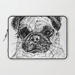 Baby Pug. Laptop Sleeve