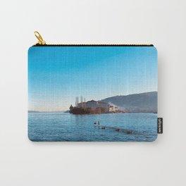 Italian island, Borromeo islands, italian lakes, lake fine art, fisherman's island Carry-All Pouch