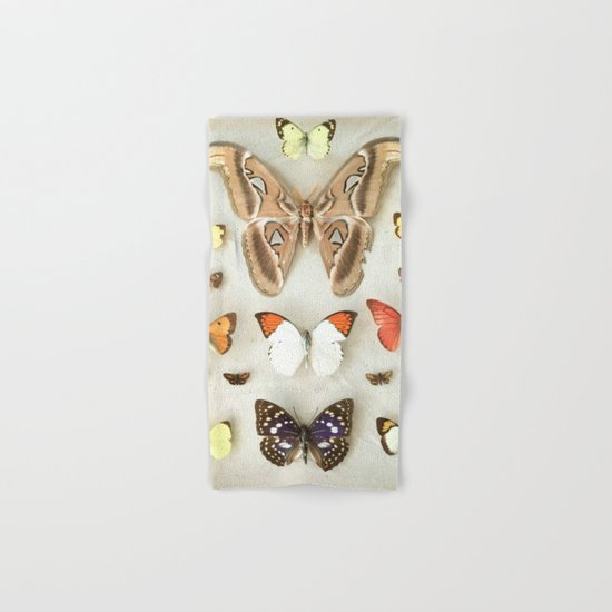 Butterflies and Moths Hand & Bath Towel