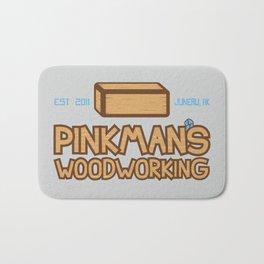 Pinkman's Woodworking Bath Mat