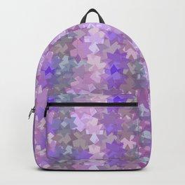 Geometric in pink Backpack