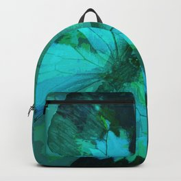 Butterfly Blue Backpack