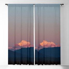 Sunset on Mount Baker Blackout Curtain