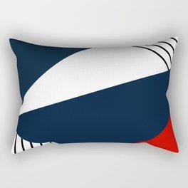 Abstract geometric pattern Lola 2 Rectangular Pillow