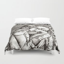 A dance Duvet Cover
